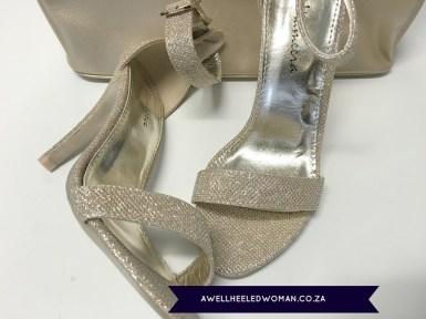 GoldGlitter sandal Week 14 - My favourite things - 52 week Blogger Challenge #awellheeledwomanblog