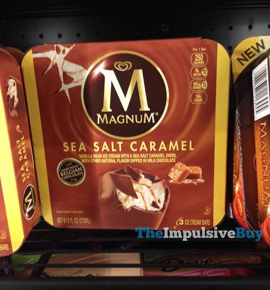 Magnum Sea Salt Caramel Ice Cream Bars