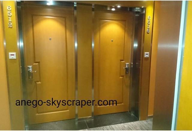 エアポートホテルのドア