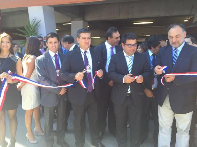 Intendente de O'Higgins, Juan Godoy, y director nacional del Sernageomin, Rodrigo Álvarez Seguel, inauguran Exposur en Rancagua (2)