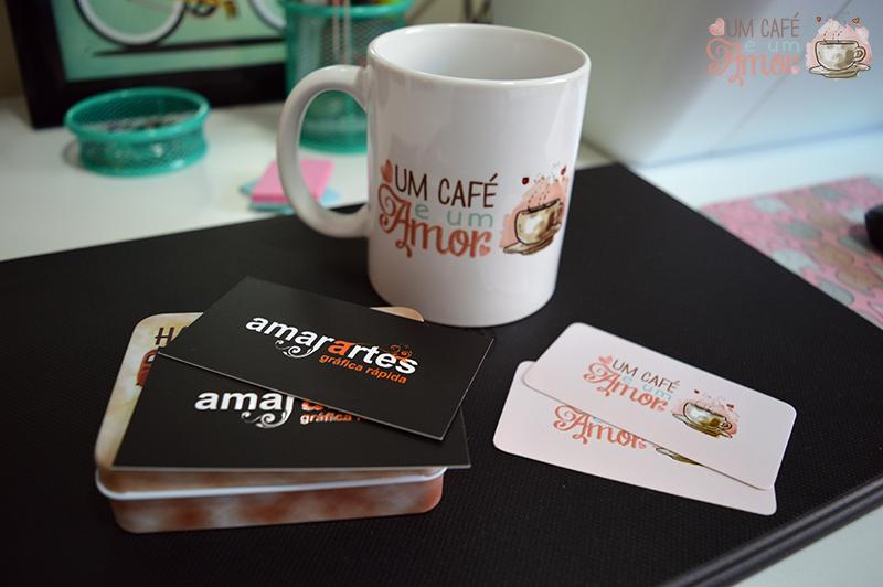 Cartões de visita e Caneca Personalizados