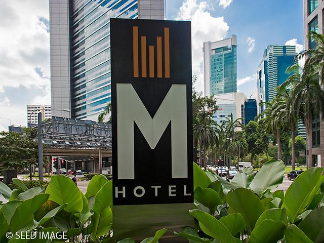M Hotel Logo