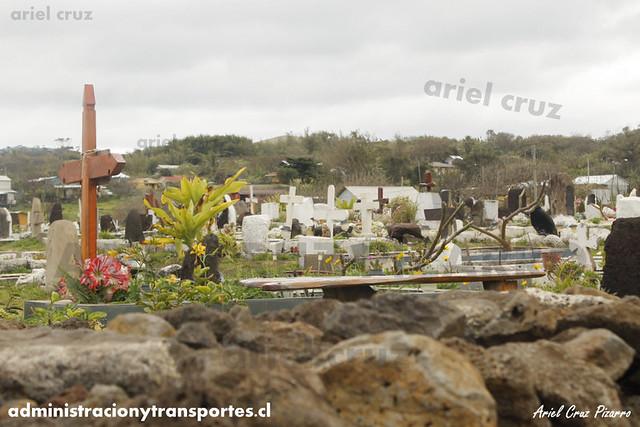 Cementerio Isla de Pascua