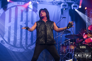 Joe Lynn Turner at HRH AOR, Pwllheli, 11 March 2016