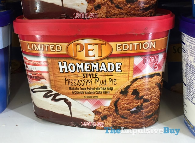 PET Limited Edition Homemade Style Mississippi Mud Pie Ice Cream