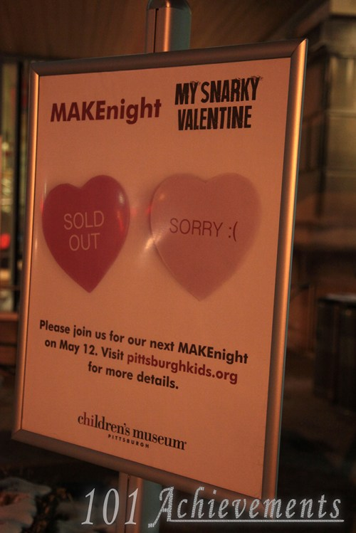 MakeNight at the Children's Museum