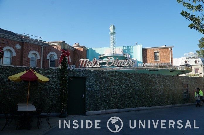 January 5, 2016 Update - Mel's Diner - Universal Studios Hollywood