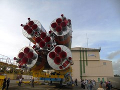 Soyuz rolls out