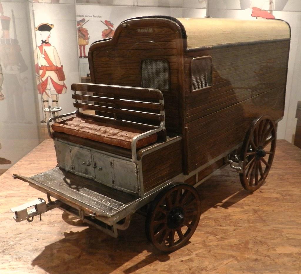 Museo Militar de Intendencia Palacio Polentinos Avila 28 Medios de transporte