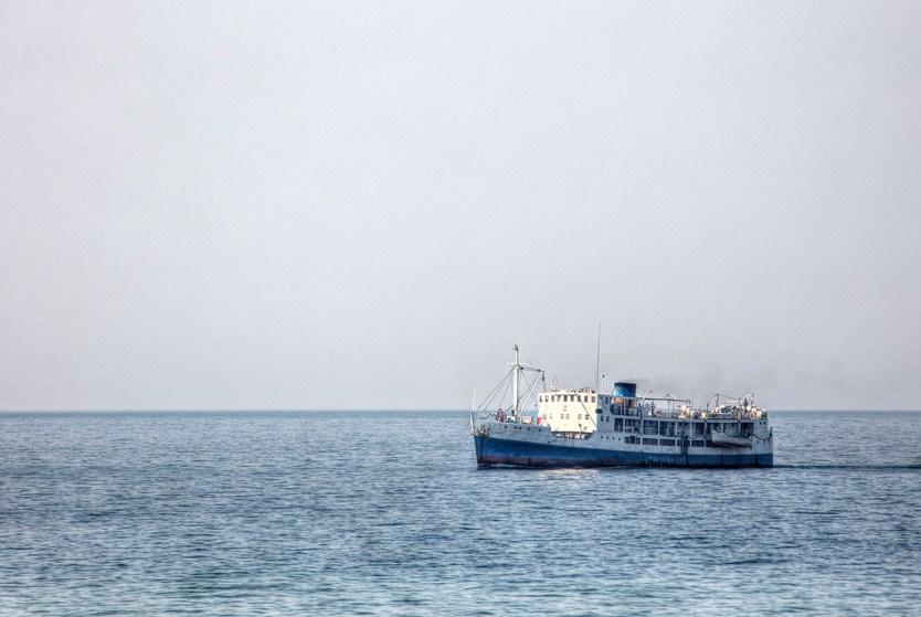 The Ilala Ferry of Lake Malawi.