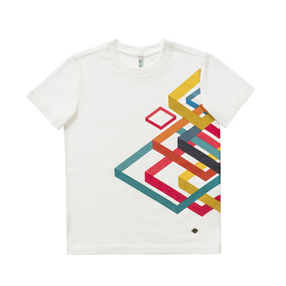 t-shirt stampa bambino Benetton Carnival Kids