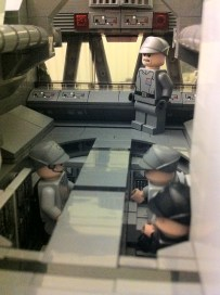 Lego Star Destroyer bridge