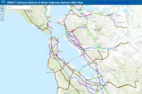 Caltrans D4 Publishes Draft Bay Area Highway Bike Access Map The san francisco bay area since the 1800s has drawn people from around the world seeking fortune a booming regional economy has led to record congestion on the bay area's freeways. caltrans d4 publishes draft bay area