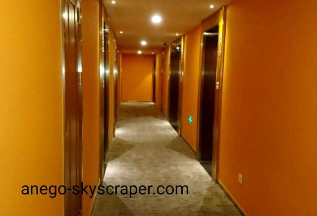 エアポートホテルの廊下