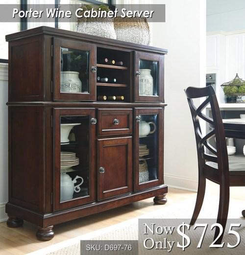 Porter Wine Cabinet Server