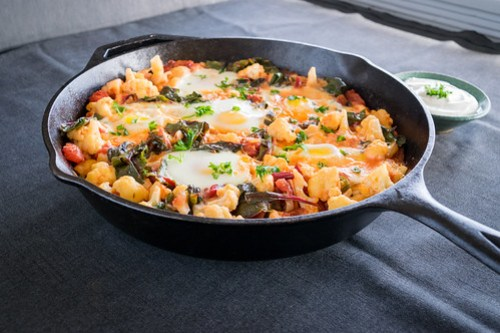 warm and comforting winter shakshuka