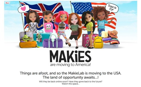 Makies Moving to US