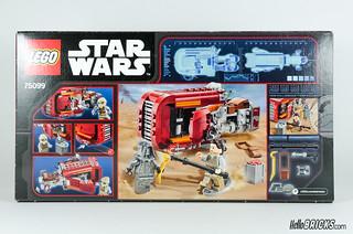 REVIEW LEGO Star Wars 75099 Rey's Speeder 02 - HelloBricks