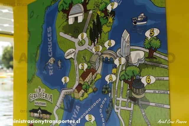 Mapa tour TFS