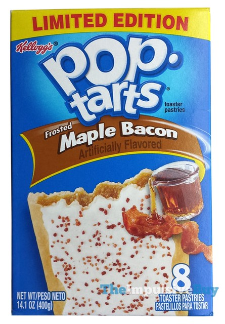 Kellogg's Limited Edition Frosted Maple Bacon Pop-Tarts