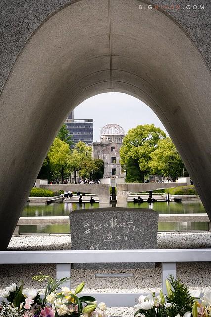 Todos los monumentos alineados