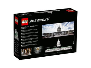 LEGO Architecture 21030 United States Capitol Building back