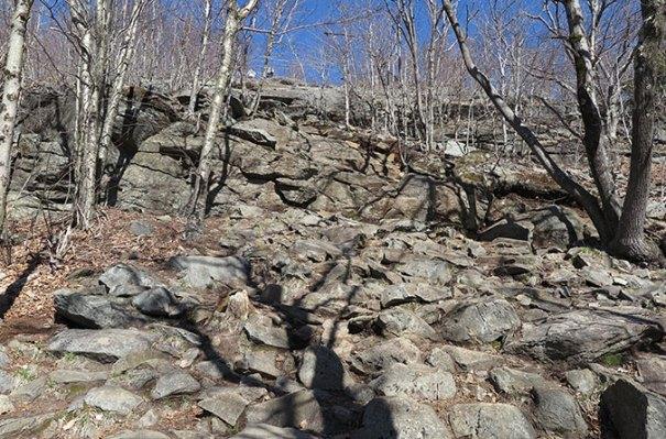 White Dot Trail Rock Scramble 2