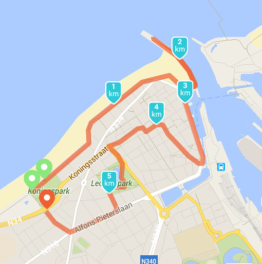 Run blogger run in Oostende
