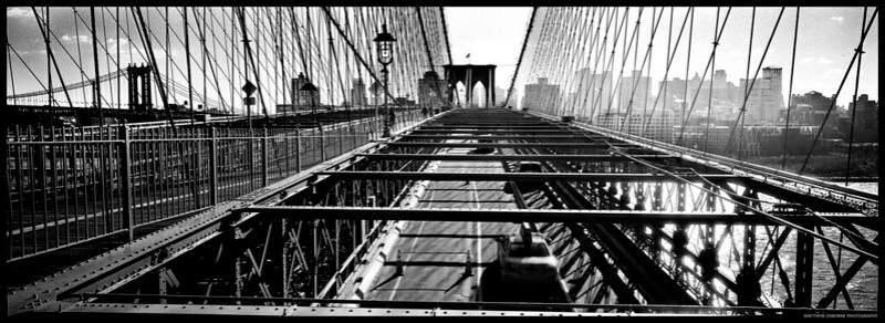 Brooklyn Bridge XPan Panoramic