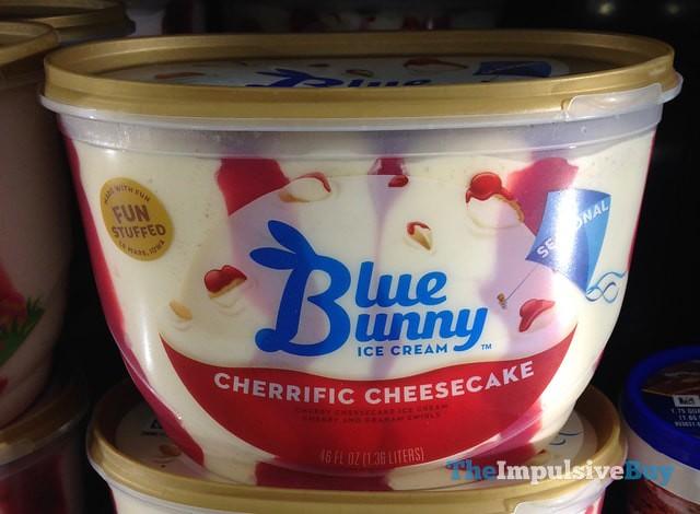 Blue Bunny Seasonal Cherrific Cheesecake Ice Cream