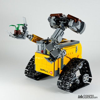 REVIEW LEGO 21303 WALL-E LEGO IDEAS 16