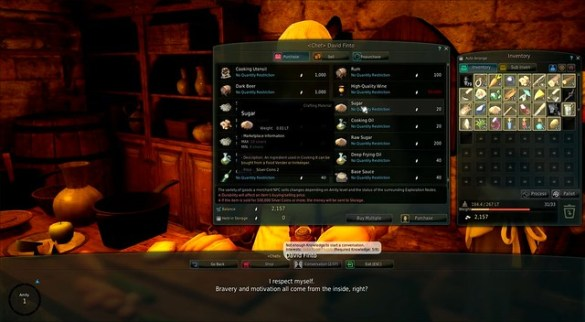 Black Desert Online - Cooking Supplies