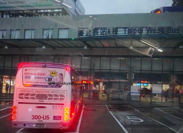 朝の台北西A站