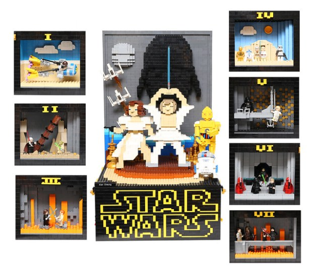 LEGO STARWARS - A NEW HOPE