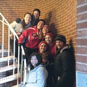 Ocean City High School students help prepare Cape May Lighthouse for 2016 season