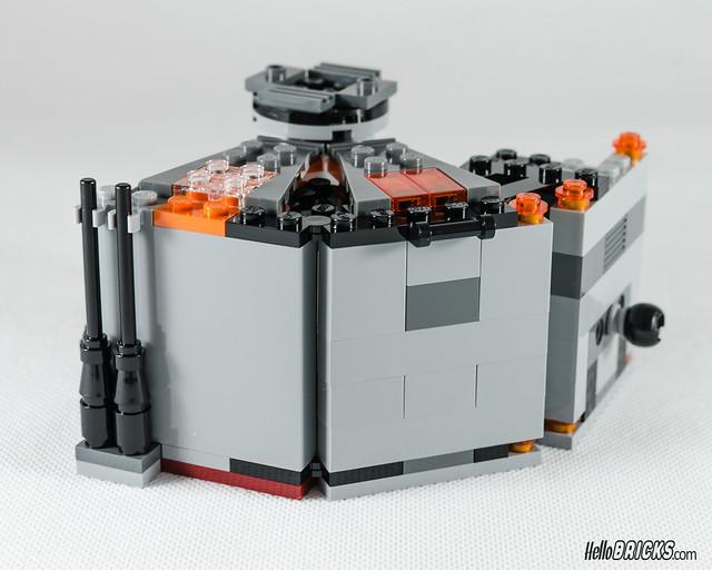 REVIEW LEGO Star Wars 75137 Carbon-Freezing Chamber 17 (HelloBricks)