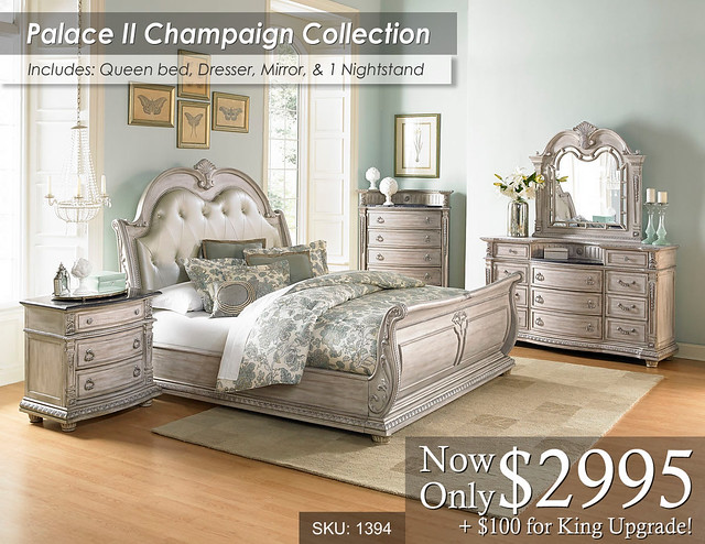 Palace Champaign Bedroom