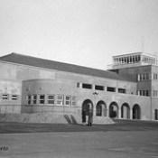 Aeroporto de Pedras Rubras em 1960