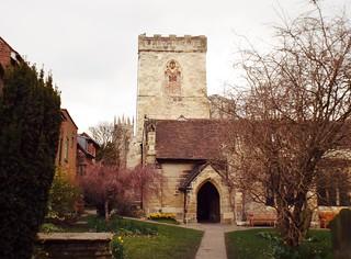 York Holy Trinity Church Goodramgate - the tea break project solo female travel blog