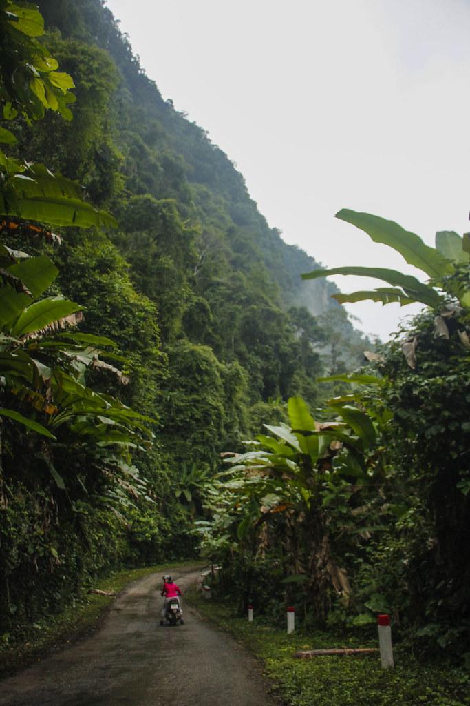klipper ved Phong Nha Nationalpark