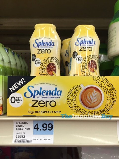 Splenda Zero Liquid Sweetener