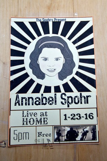 Annabel Spohr, Live at Home