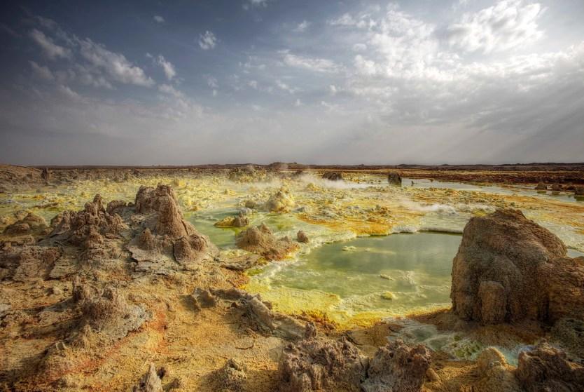 Dallol Volcanic Crater, Ethiopia.