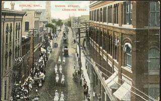 Queen Street, Berlin, Ontario (1910)