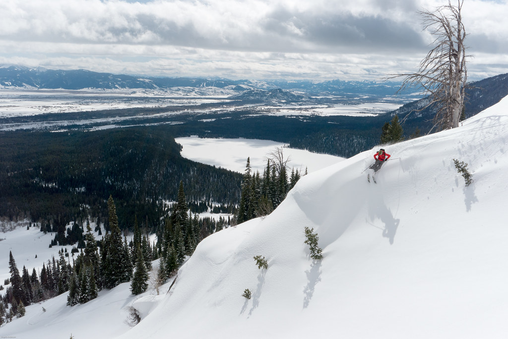Skiing in Grand Teton National Park