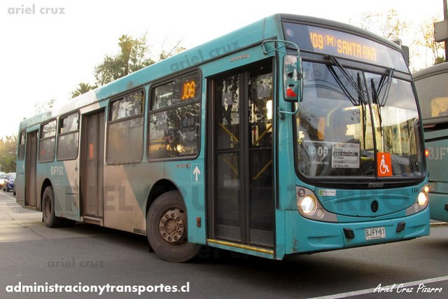 Transantiago (J09) - Metbus - Caio Mondego H / Mercedes Benz (BJFY61)