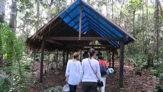 hammock shelter amazon rainforest tupana