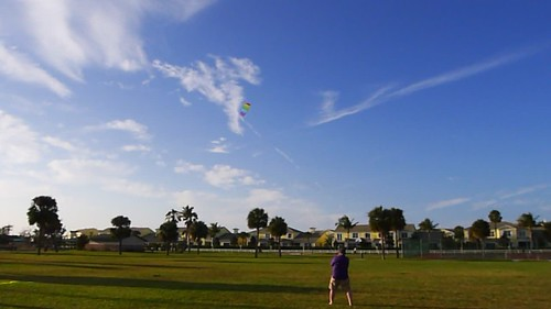 Parafoil Kite Flying