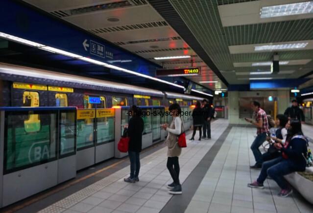MRT南港