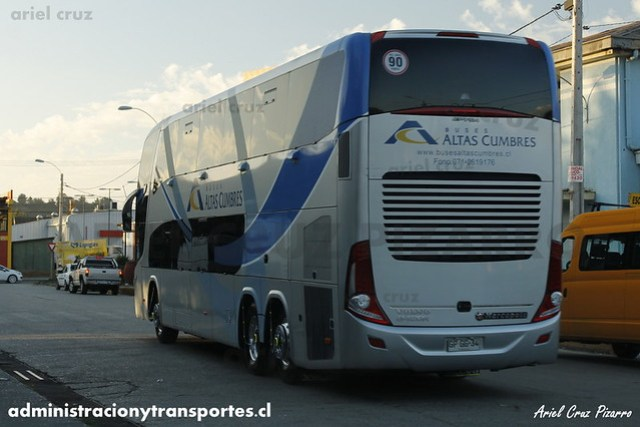 Buses Altas Cumbres - Constitución - Marcopolo Paradiso 1800 DD / Volvo (GPGG34)